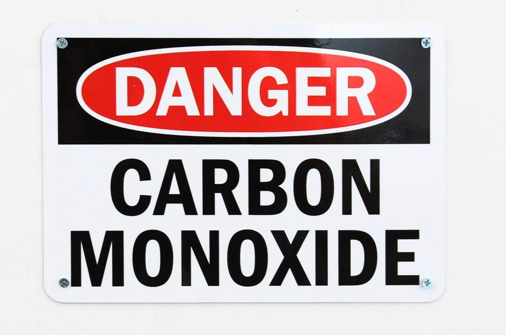 Danger Carbon Monoxide